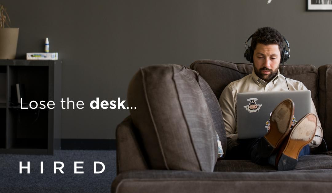 Hired lose the desk
