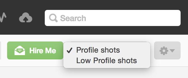Low profile selector