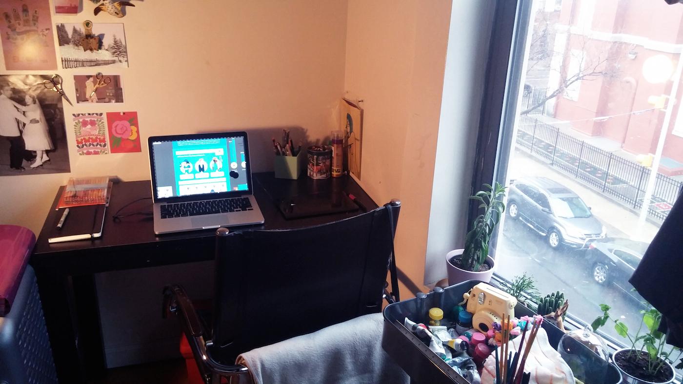 Niegborges workspace