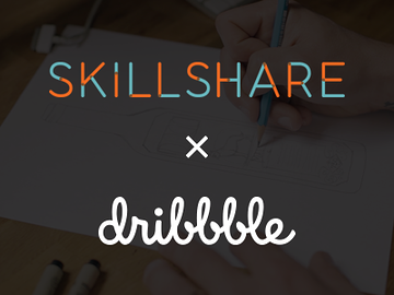 Skillshare x dribbble 360